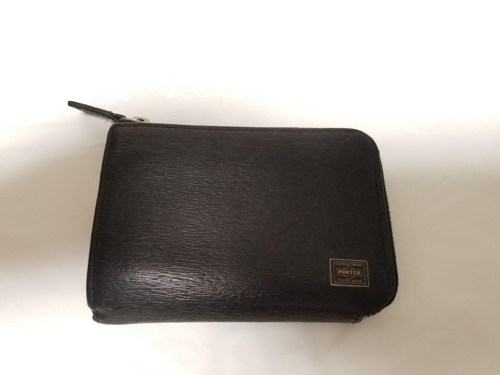PORTERのパスケース付きコインケース