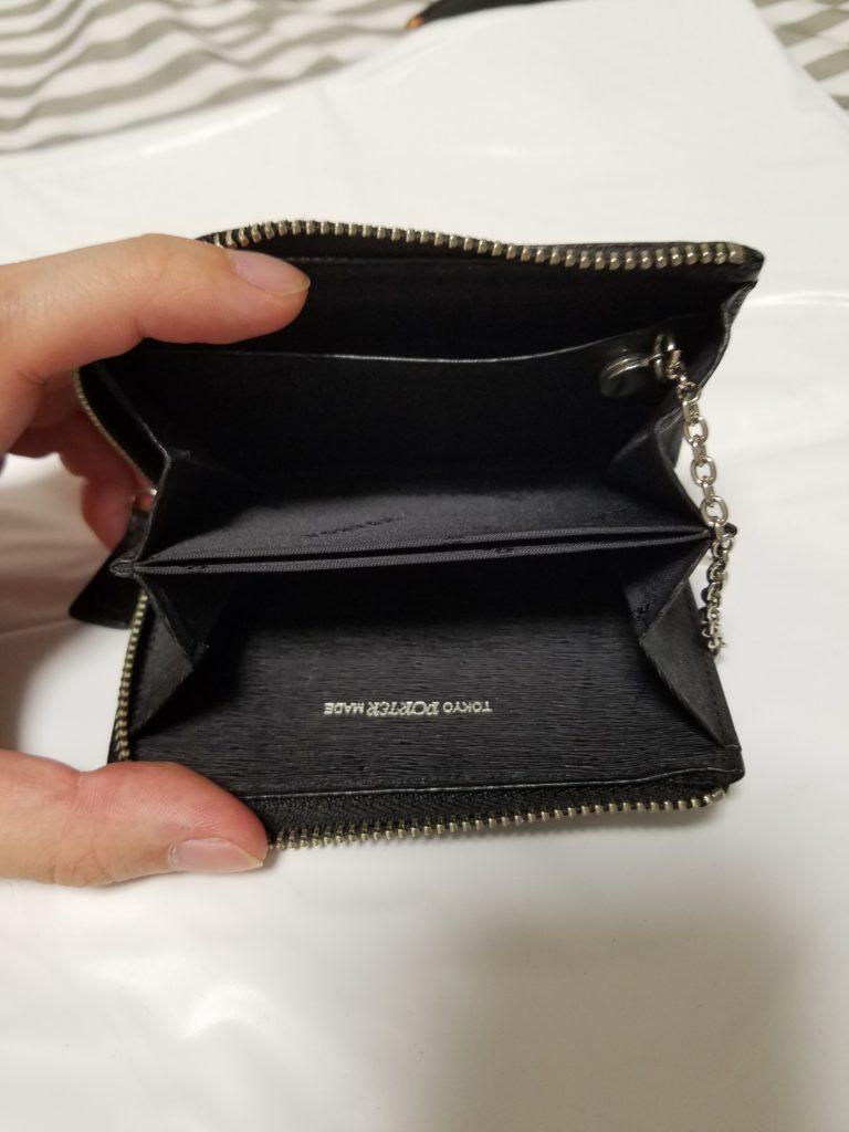 PORTERのパスケース付きコインケースの中身