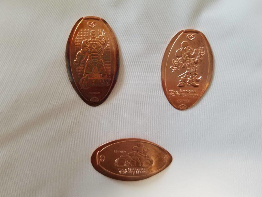 上海ディズニー スーベニアメダル マジックメダリオン