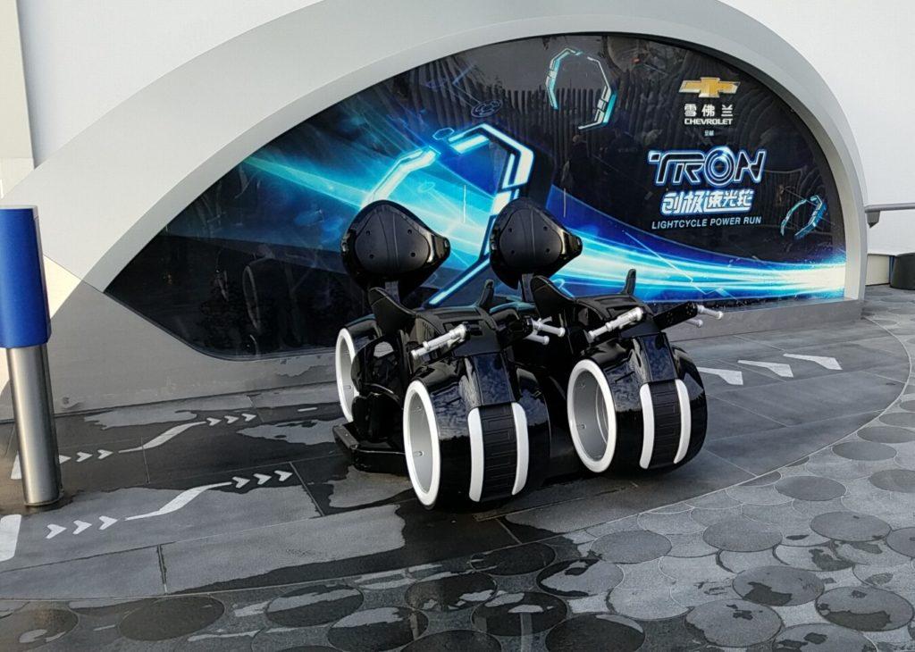 上海ディズニー トロン・ライトサイクル・パワーラン