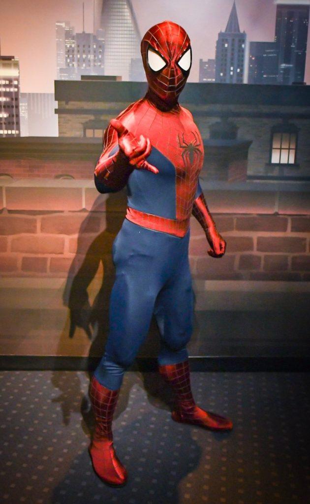 上海ディズニー スパイダーマン