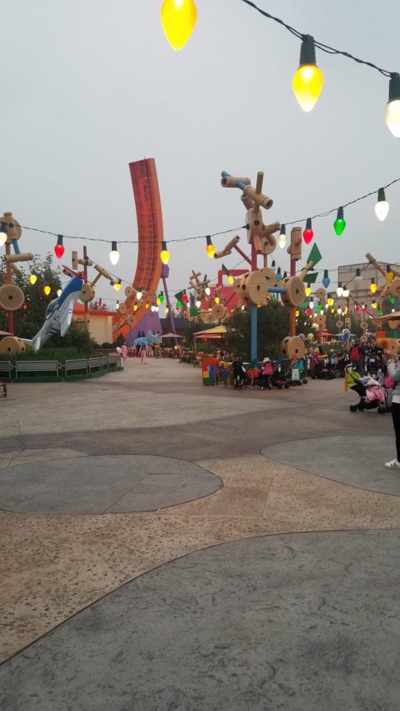上海ディズニー レックスレーサー