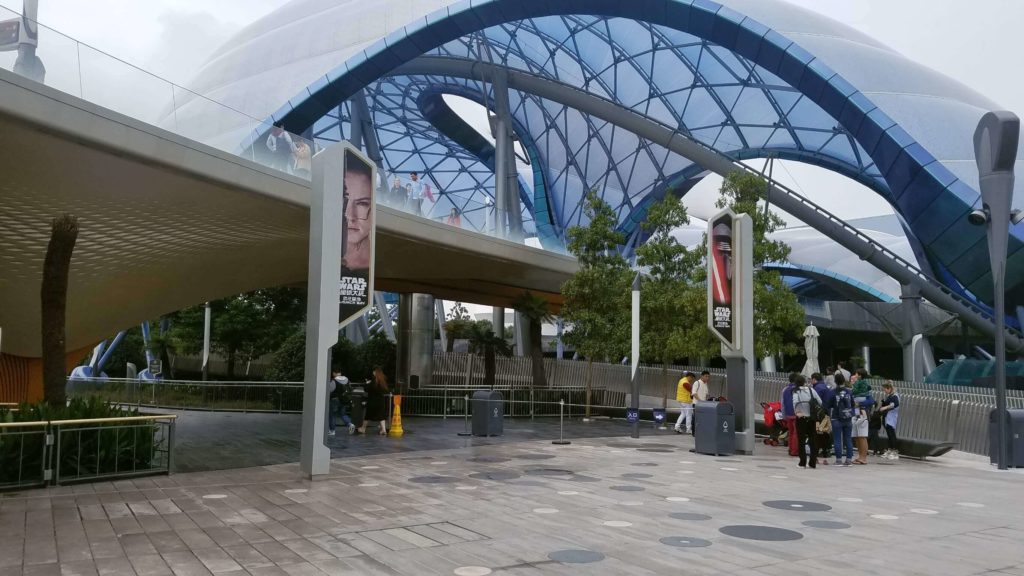 上海ディズニーは近くてアクセスが良い
