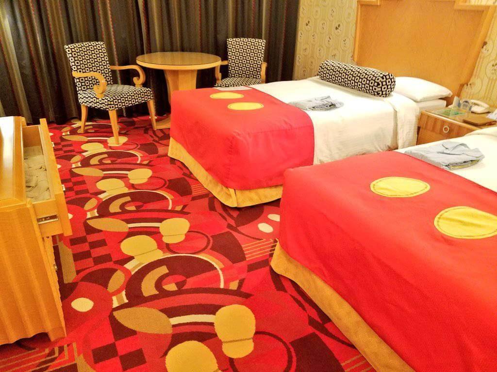 ディズニーアンバサダーホテルのミッキーマウスルームが凄すぎた!ミッキーづくしの部屋と豪華すぎる特典!!
