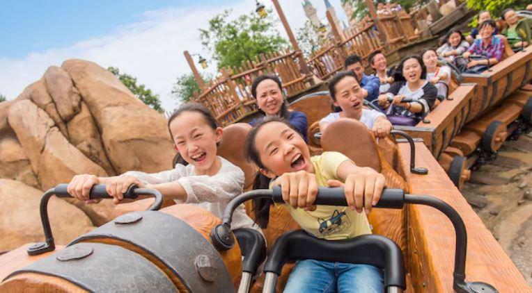 上海ディズニーランド怖いアトラクションランキングTOP5!七人のこびとのマイントレイン