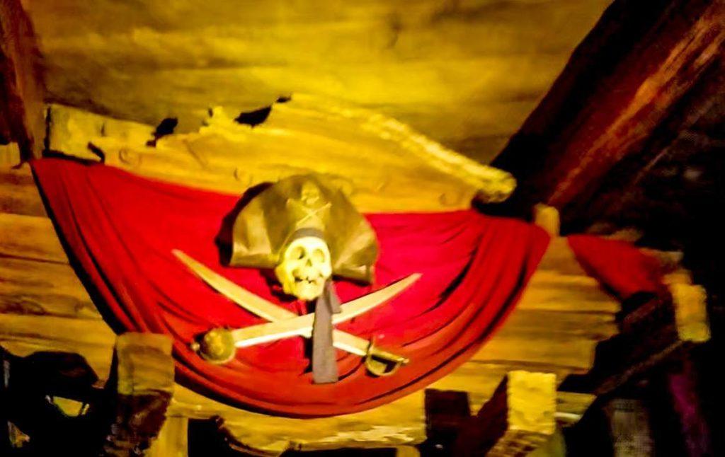 上海ディズニーのカリブの海賊と日本のカリブの海賊の違い