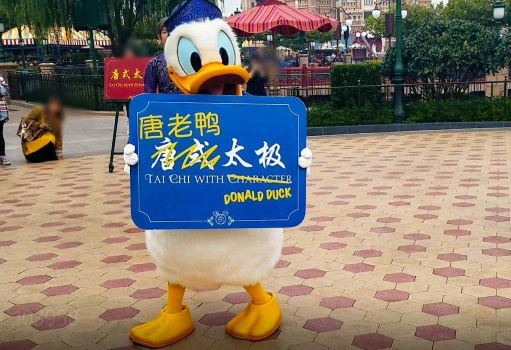 上海ディズニーで太極拳!「太極拳・ウィズ・キャラクター」の登場キャラクター/ドナルド