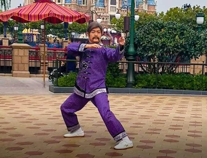 上海ディズニーで太極拳!「太極拳・ウィズ・キャラクター」の登場キャラクター/師範