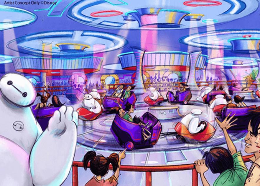 ベイマックスのアトラクション「ベイマックスのハッピーライド」が東京ディズニーランドに登場