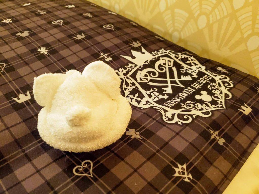 キングダムハーツルームに泊まった感想/タオルミッキー