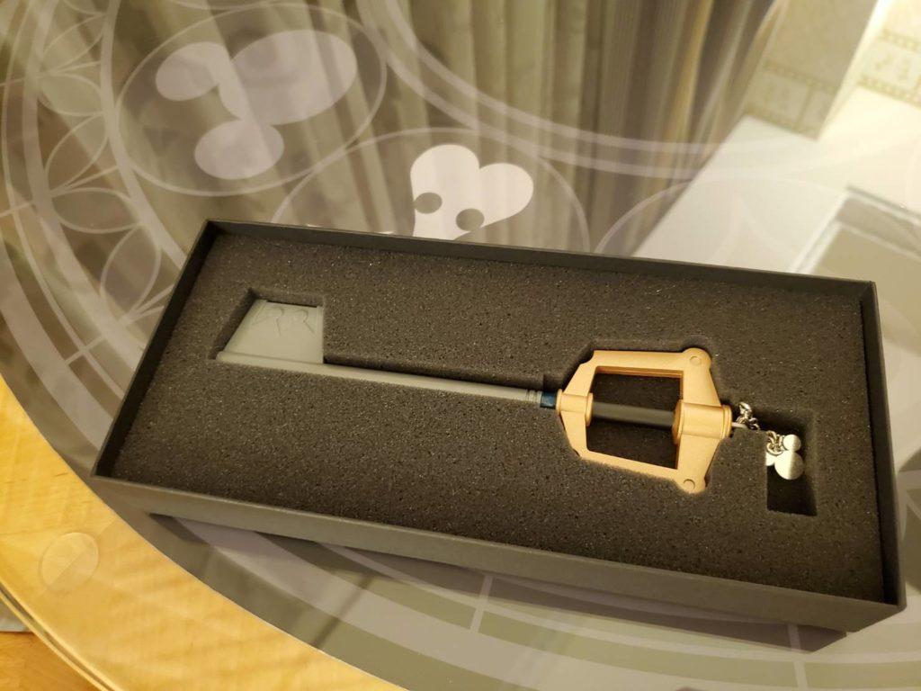 ルームキーがキーブレード!部屋の鍵を開けるのが楽しい!!