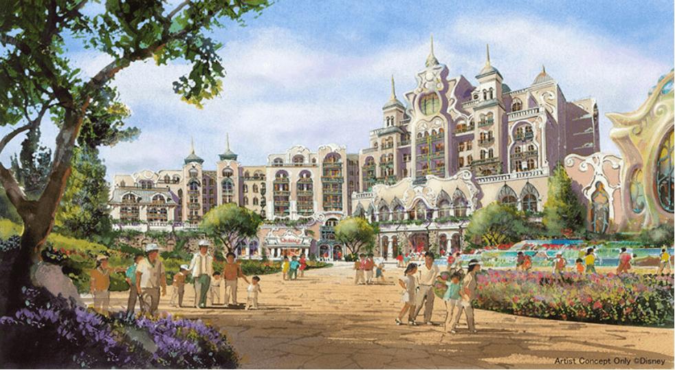 ファンタジースプリングスには、TDSで2つ目のパーク一体型の新ディズニーホテルが登場