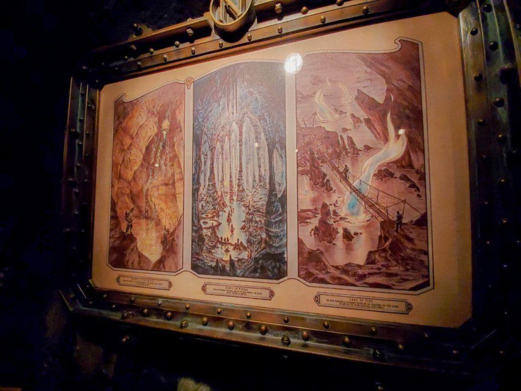 センターオブジアースの原作『地底旅行』とアトラクションの関係!ラーバモンスターはアトラクションオリジナルキャラクター