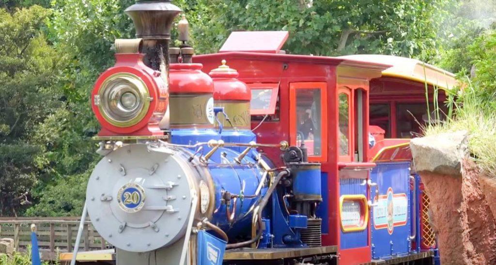 ウエスタンリバー鉄道の車両の種類は4種類!ミシシッピ号
