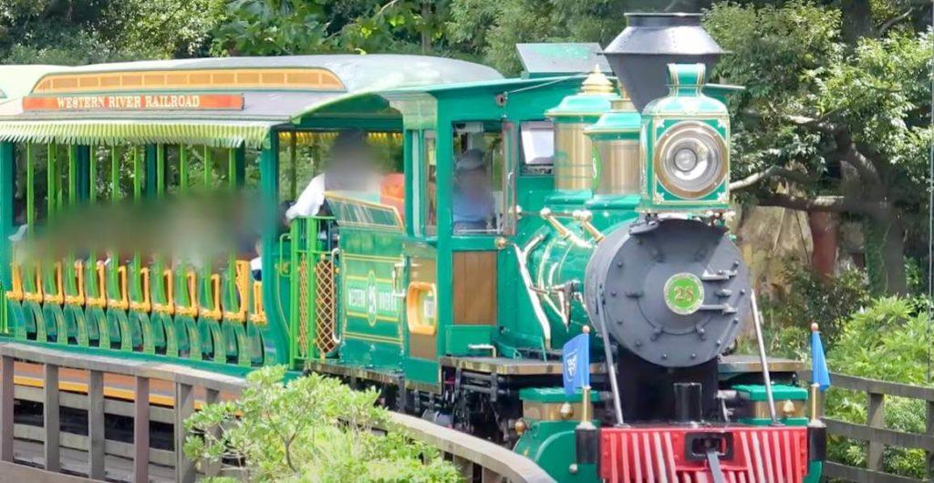 ウエスタンリバー鉄道の車両の種類は4種類!ミズーリ号