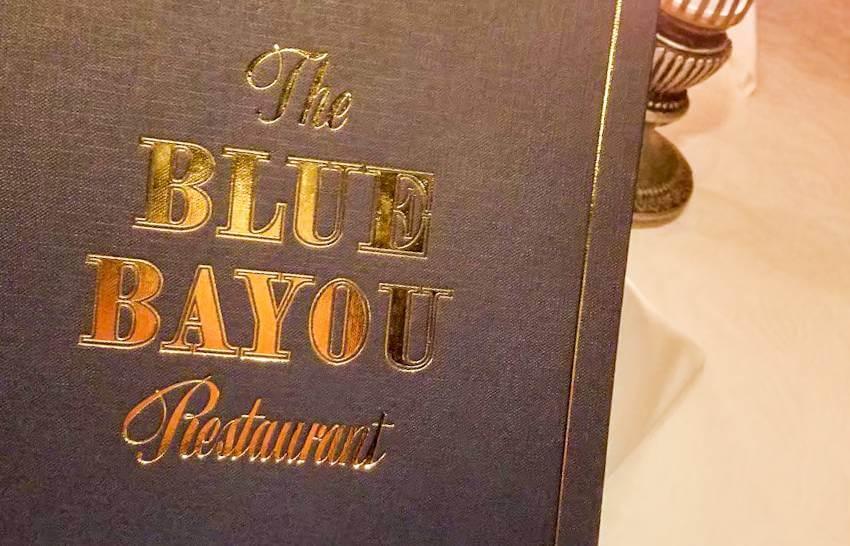 カリブの海賊から見えるレストラン『ブルーバイユーレストラン』