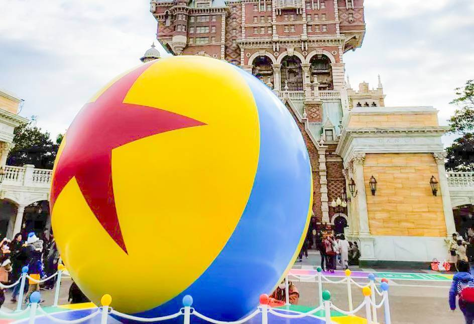 『ルクソーJr.』にも登場する星マークが描かれたボールの正体