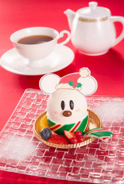 ディズニーホテルのクリスマス限定メニュー