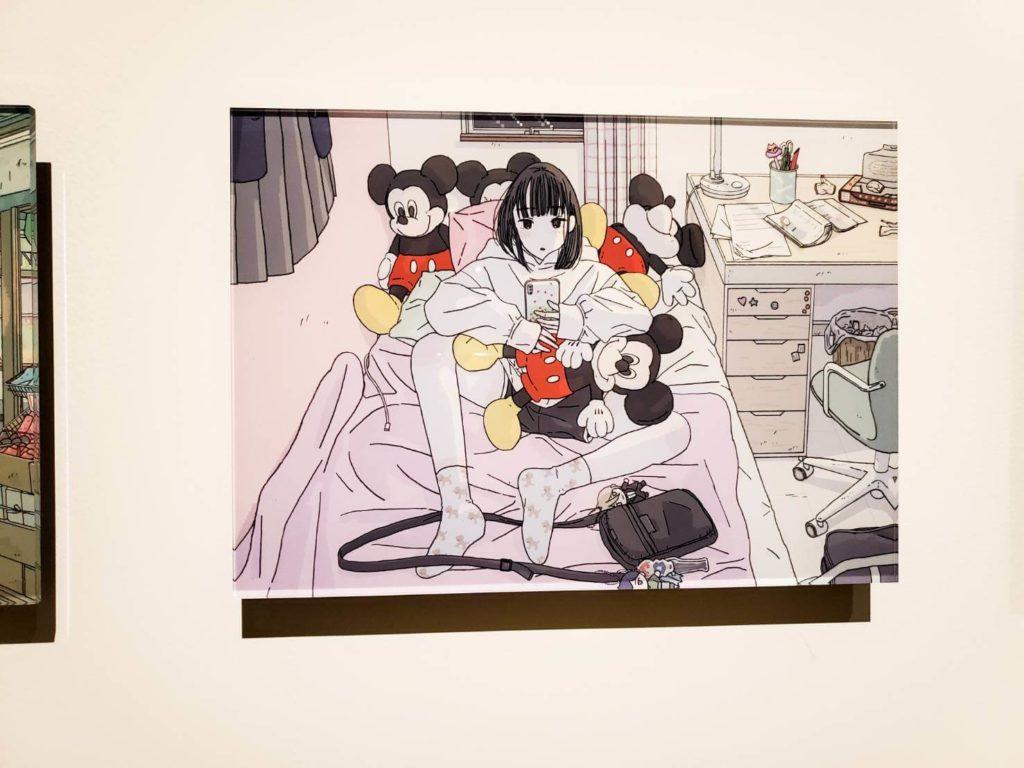 ミッキーマウス展を見た感想!アーティストコラボエリア