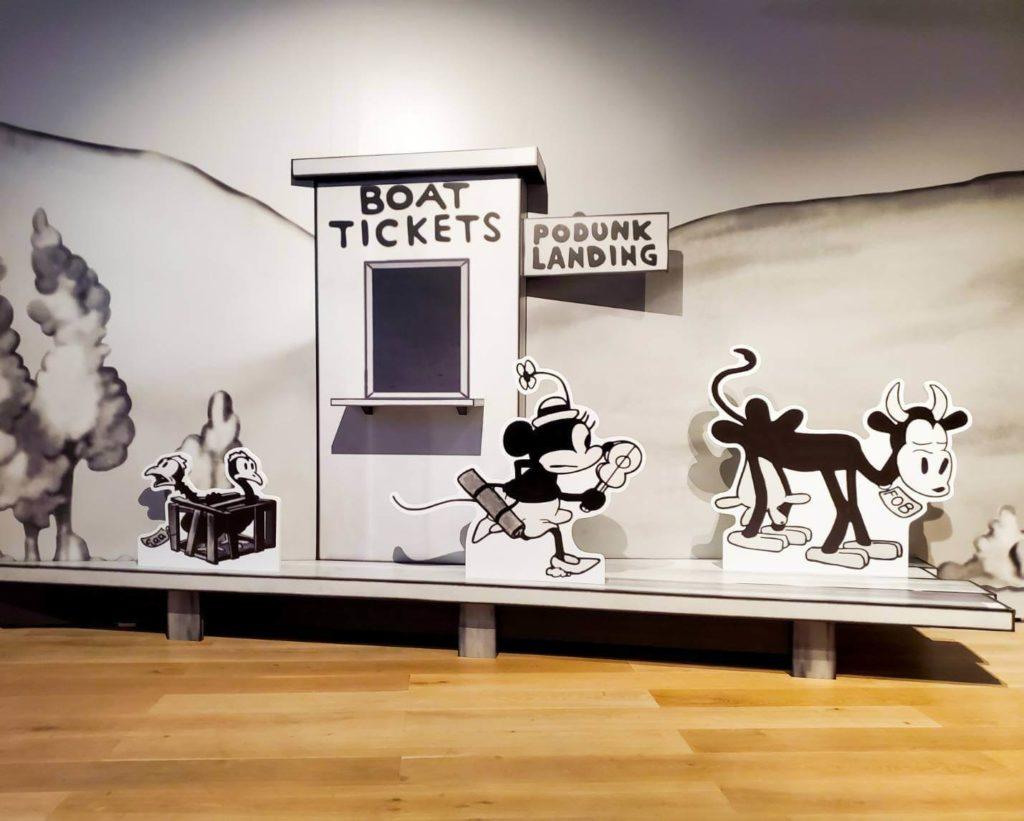 ミッキーマウス展を見た感想!蒸気船ウィリーエリア