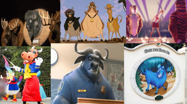ディズニー『牛』モチーフのキャラクター紹介!名前と登場作品まとめ