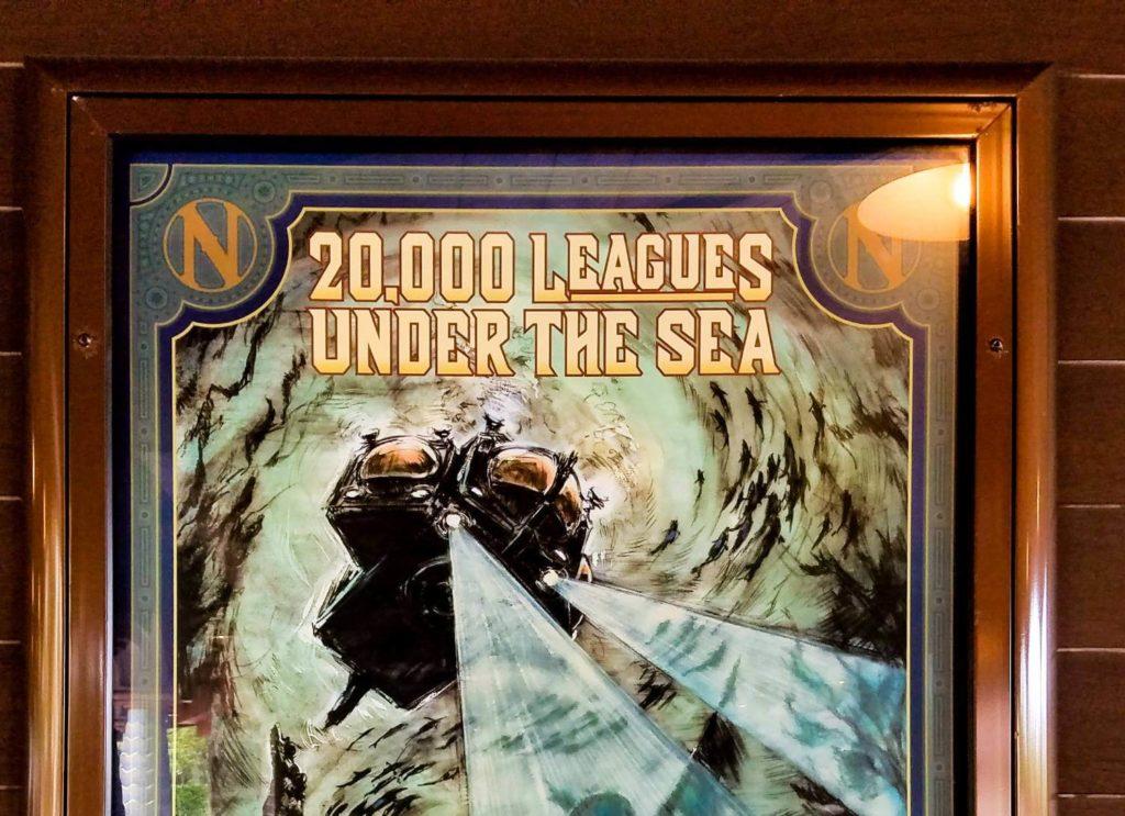 映画とアトラクションの『海底2万マイル』