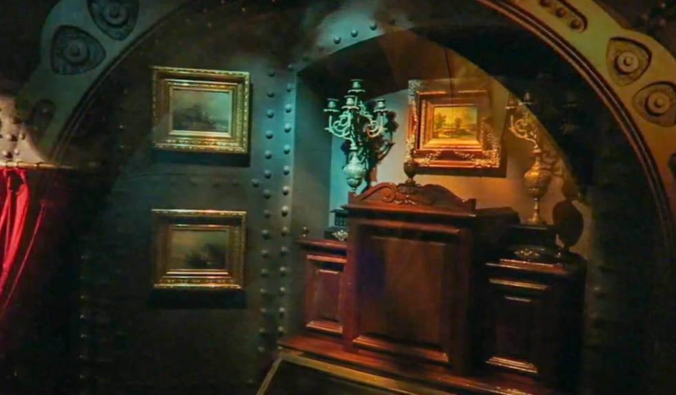 ディズニーランドパリの『海底2万マイル』を体験した感想!ノーチラス号の中は結構広い!見どころが多すぎる