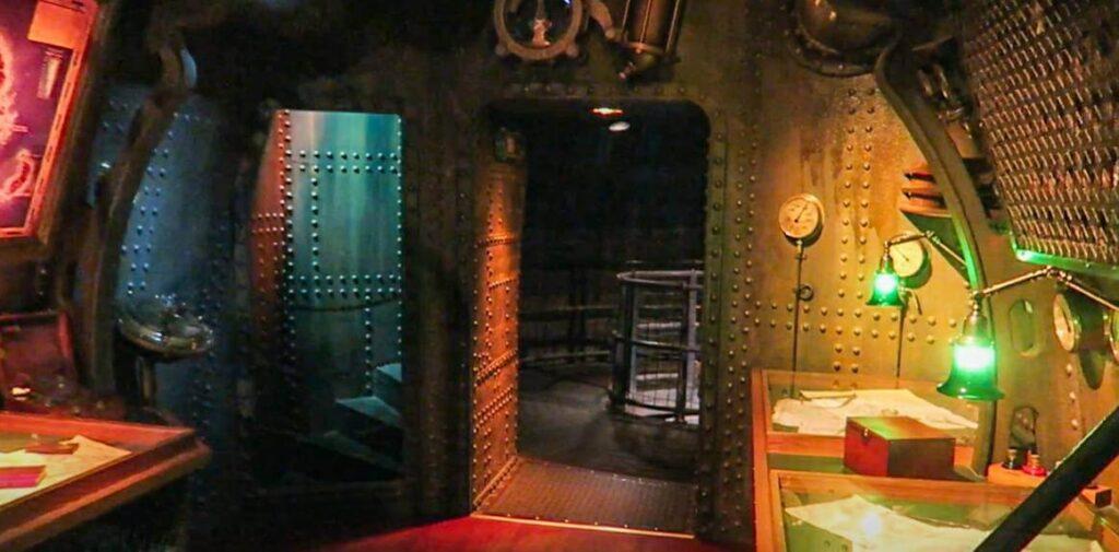 """【DLP】パリ版『海底2万マイル』はネモ船長の潜水艦の""""ノーチラス号""""の中を探検できる!"""