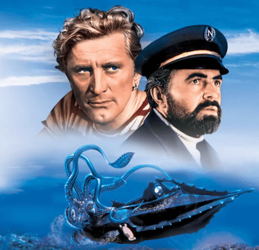 『海底2万マイル』の映画を見ればアトラクションが倍楽しくなる!【あらすじと感想】
