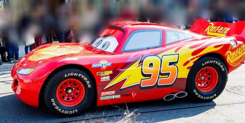 ライトニング・マックイーンの車体に書かれた「95」の意味