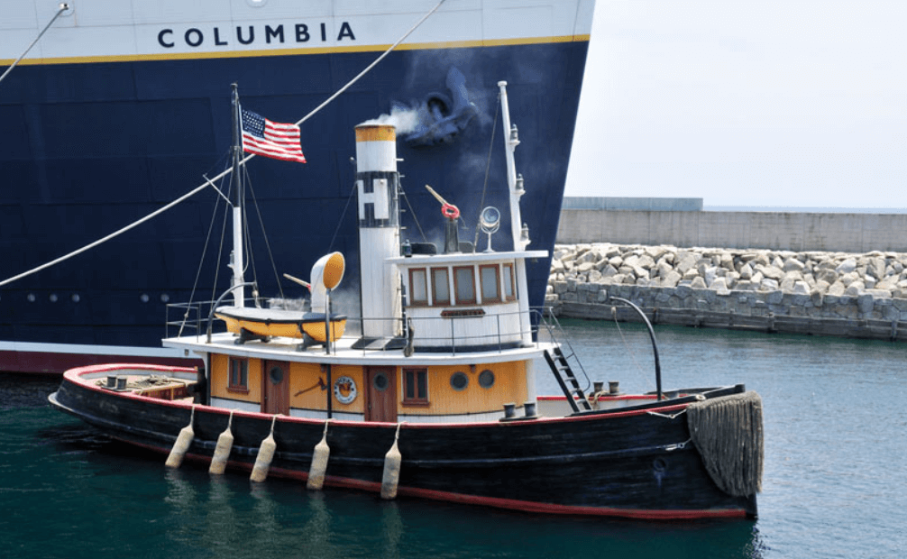 ディズニーシーの船の名前②ヘラクレス号