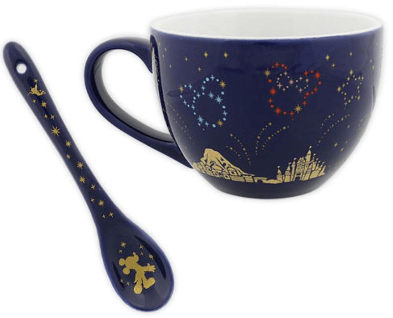 ディズニーの花火をテーマにした新グッズ一覧!マグカップ&スプーン