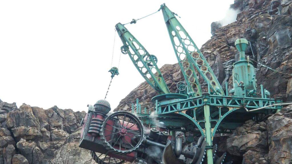 【TDS】プロメテウス火山に刺さってる車の正体は削岩機『ドリリングマシン』