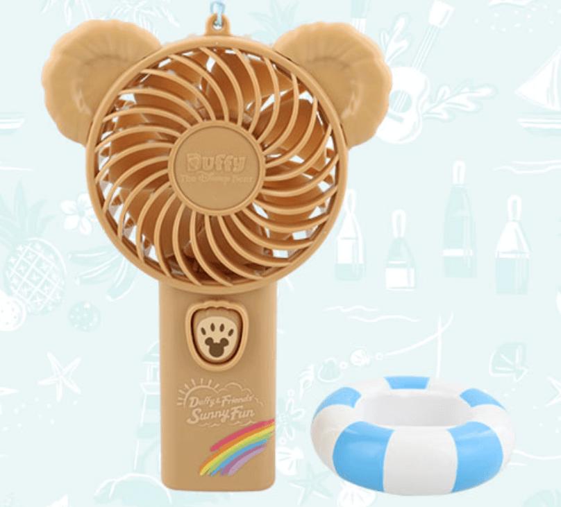 ダッフィー&フレンズのサニーファン2021のスペシャルグッズ一覧!ハンディ扇風機