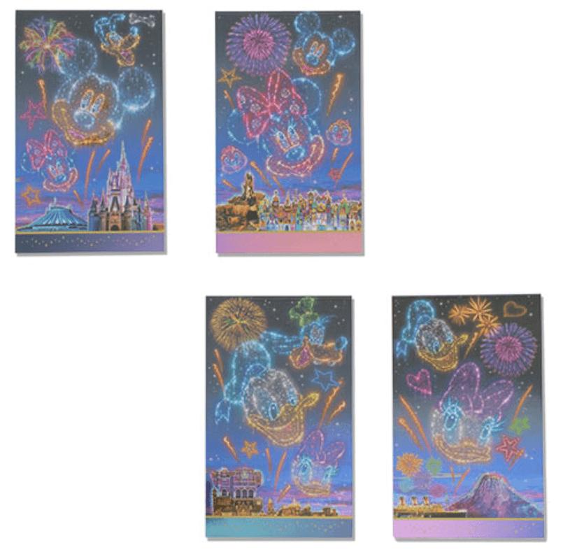 ディズニーの花火をテーマにした新グッズ一覧!メモセット