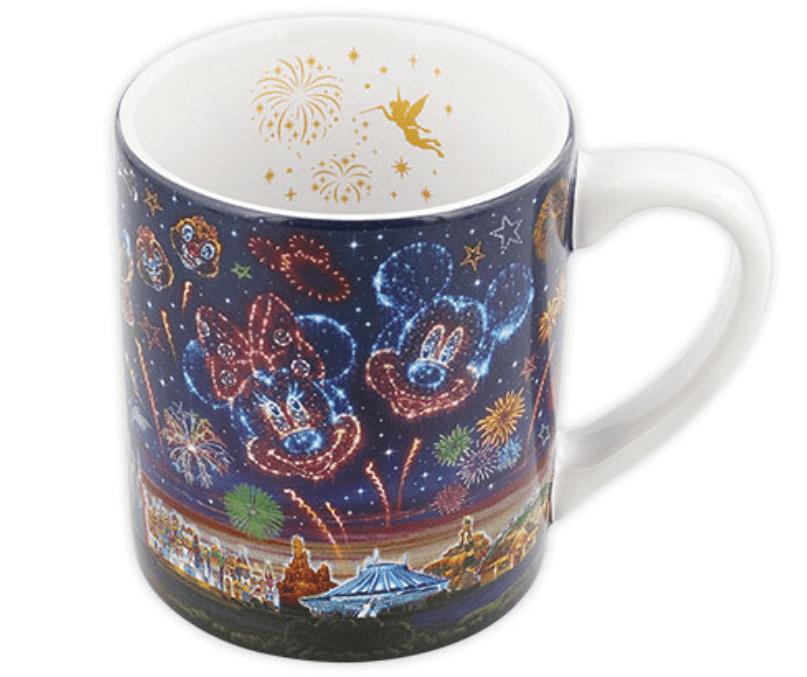 ディズニーの花火をテーマにした新グッズ一覧!マグカップ