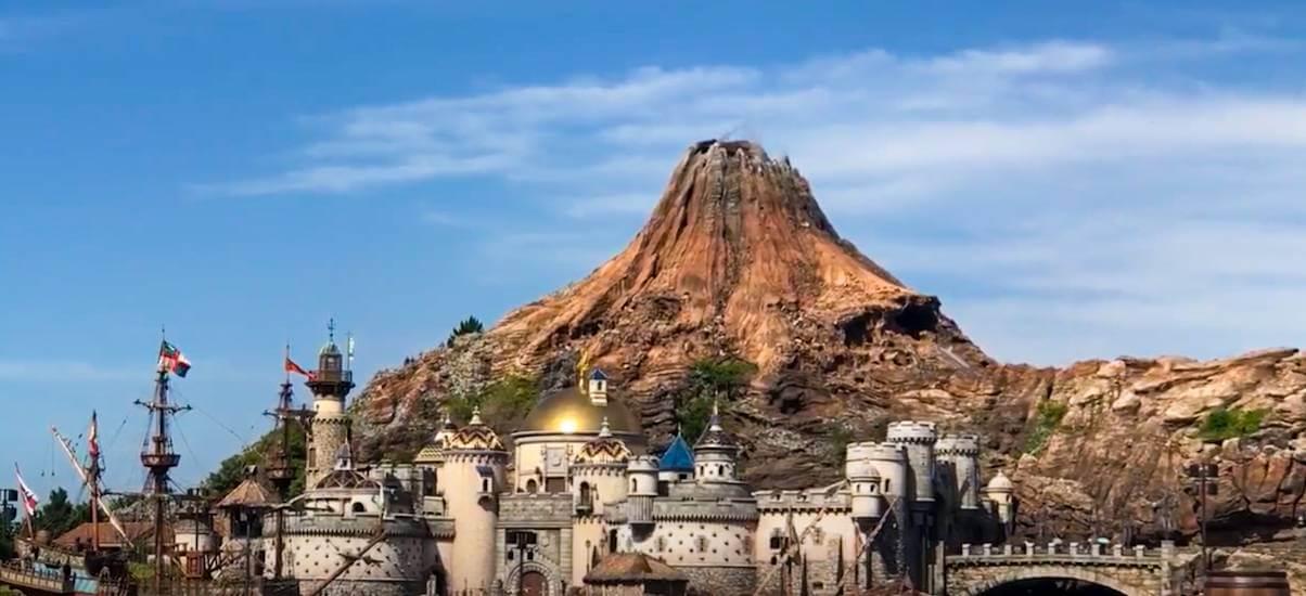 【TDS】プロメテウス火山のモデルと名前の由来は?噴火の時に見える隠れミッキーとは!!