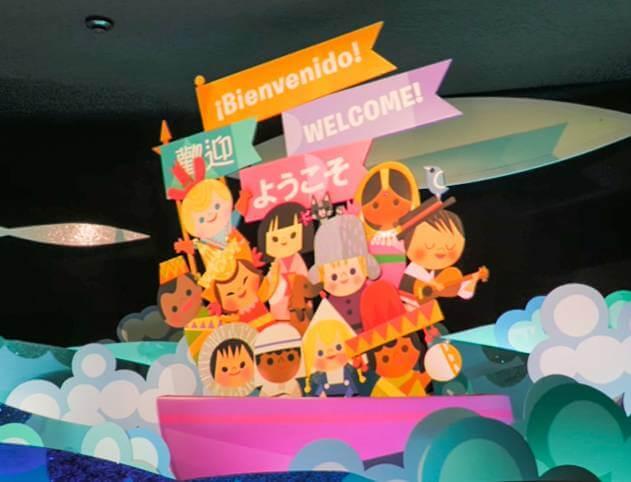 東京ディズニーランドのイッツ・ア・スモールワールドだけに登場するディズニーキャラクター