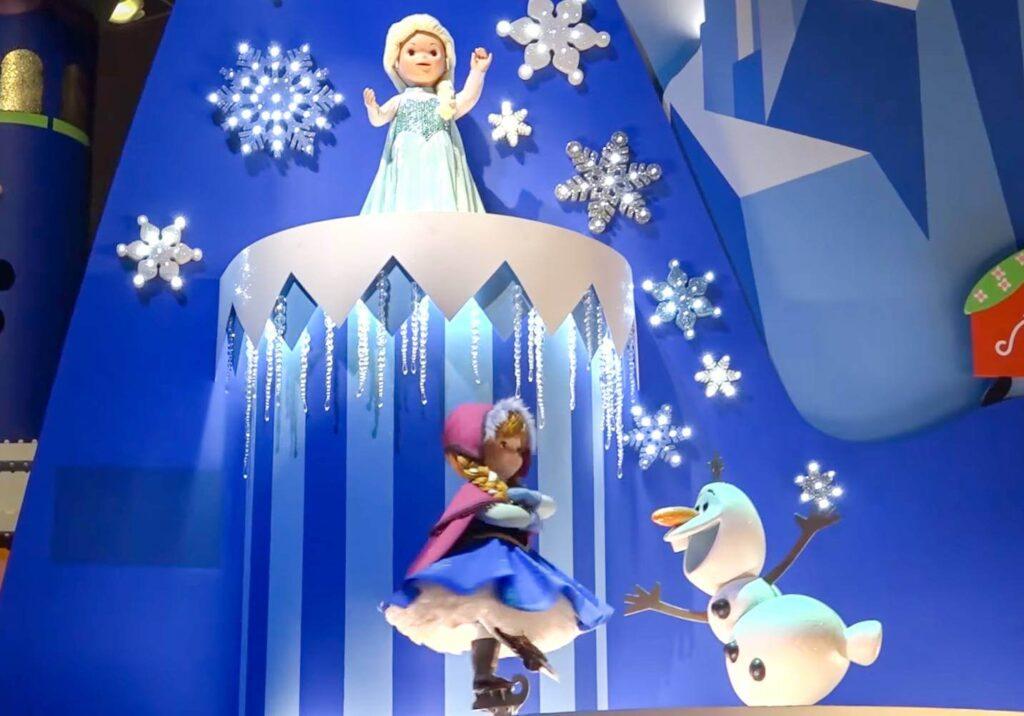 イッツ・ア・スモールワールドに登場するディズニー・ピクサーキャラクター一覧!アナと雪の女王 エルサ アナ オラフ