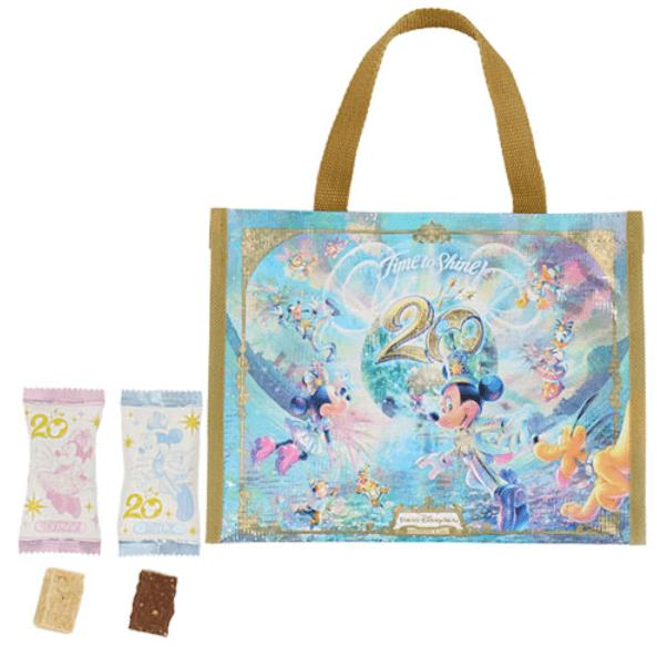 ディズニーシー20周年記念グッズ【お菓子】