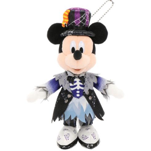 """ディズニーハロウィーン2021「スプーキー""""Boo!""""パレード」グッズ:ぬいぐるみバッジ ミッキー"""