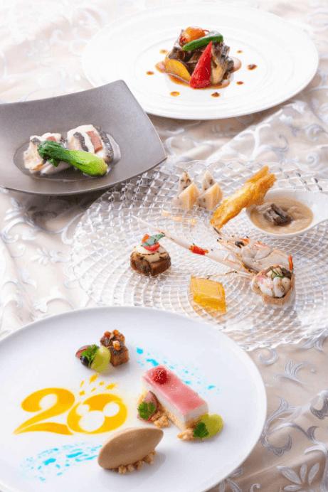 中国料理レストラン「シルクロードガーデン」のディズニーシー20周年スペシャルメニュー
