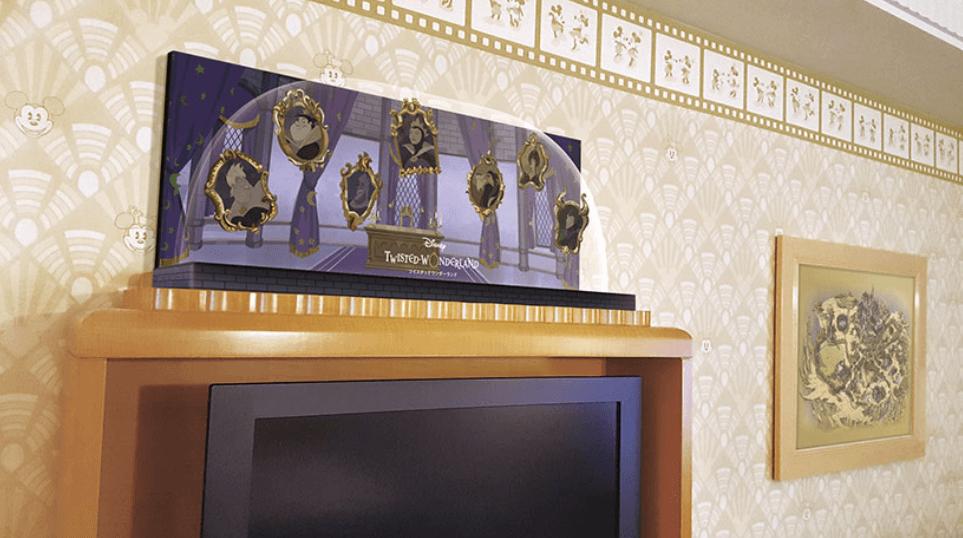アンバサダーホテル「ツイステッドワンダーランド」コラボルームの内装
