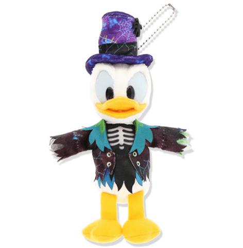 """ディズニーハロウィーン2021「スプーキー""""Boo!""""パレード」グッズ:ぬいぐるみバッジ ドナルド"""