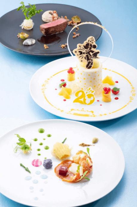 地中海料理「オチェーアノ」のディズニーシー20周年スペシャルメニュー