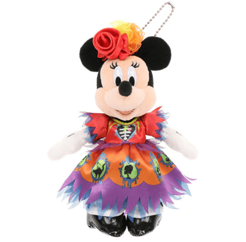 """ディズニーハロウィーン2021「スプーキー""""Boo!""""パレード」グッズ:ぬいぐるみバッジ ミニー"""