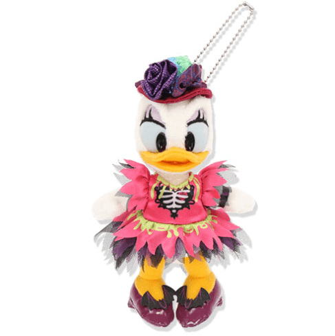 """ディズニーハロウィーン2021「スプーキー""""Boo!""""パレード」グッズ:ぬいぐるみバッジ デイジー"""