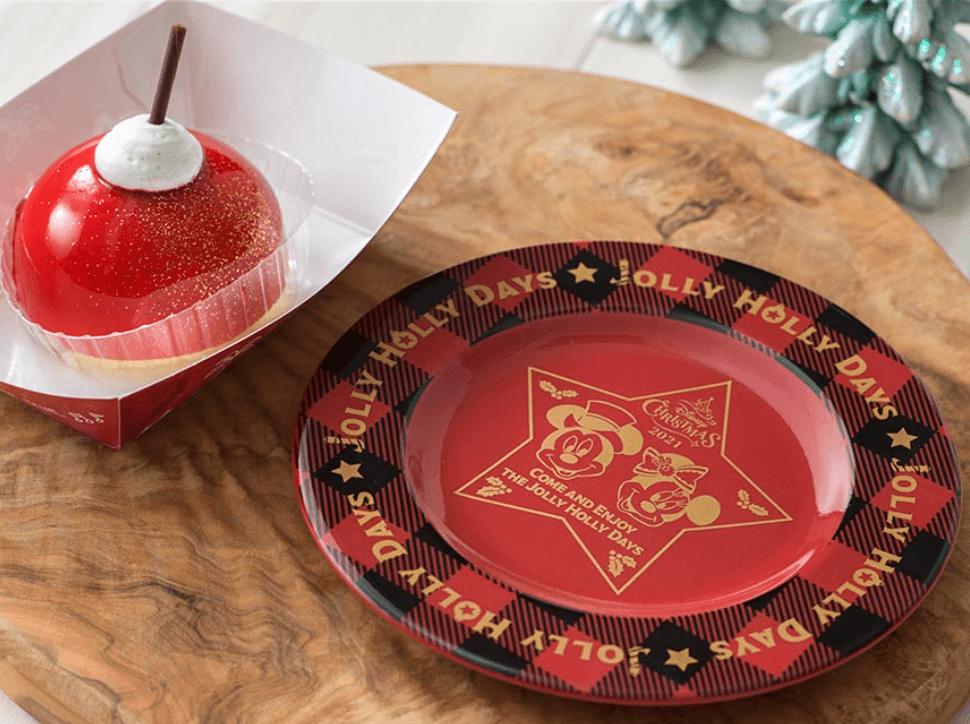 【TDS】ディズニークリスマス2021のスーベニア付きスペシャルメニュー